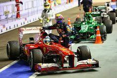 MAGAZINEF1.BLOGSPOT.IT: Webber penalizzato per l'autostop di Alonso