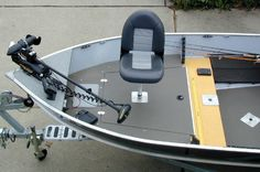 Boat Conversion -- Lund to Dream Walleye Boat -- Correll Boat Aluminum Fishing Boats, Lund, Walleye Boats, Bow Mount Trolling Motor, Boat Wiring, Boat Pics, Tiny Boat, John Boats, Fishing