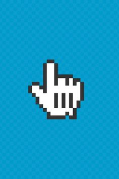 Hand Cursor iPhone Wallpaper HD