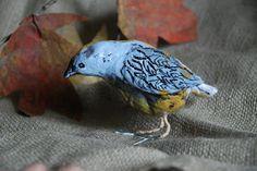that artist woman: Paper Mache Birds