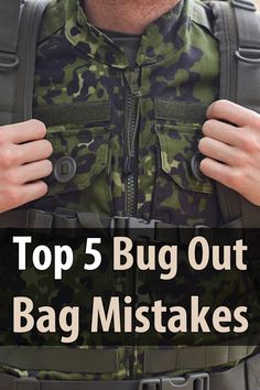 This is something people don't think about. How do you mess up a bug out bag? But there are at least 5 mistakes a lot of preppers are making.