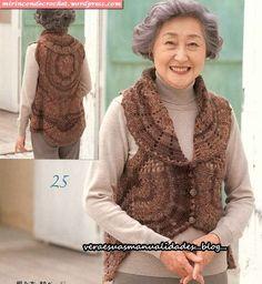 Beautiful crochet circular ♥LCC-MRS♥ with diagram.