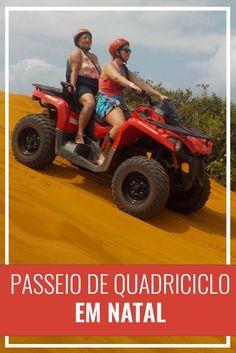 Passeio de quadriciclo em Natal - RN. Nordeste, Rio Grande do Norte, praia, viagem, passeio de buggy, Brasil