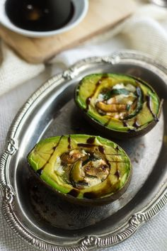 A quick and easy appetizer, snack OR side dish loaded with creamy goat cheese, zucchini and sweet balsamic reduction. Gluten free and full of healthy fats! Ingredients: 1 tsp Olive oil1 tsp Garlic, minced1/2 A small zucchini, cut into thin slicesPinch of salt1/4 Cup Balsamic vinegar2 Large avocados2 Oz goat cheese (about 1/2 oz per […]