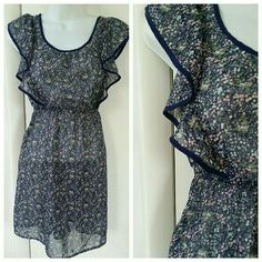 American Eagle Floral Sundress