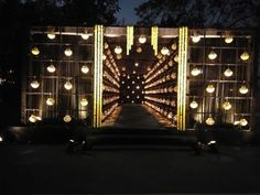 Picture from Iconic Events 'N' Entertainment Photo Gallery on WedMeGood. Browse more such photos & get inspiration for your wedding Gate Decoration, Tent Decorations, Wedding Stage Decorations, Entrance Decor, Wedding Stage Backdrop, Wedding Entrance, Wedding Mandap, Desi Wedding Decor, Event Decor