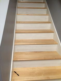 Custom Maple Stair Treads Built By Snhwoodworks LLC, Makers Of Custom Stair  Treads Of All