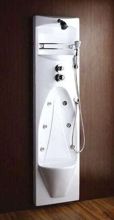 Pannello doccia Colonna idromassaggio con 10 getti, specchio ...