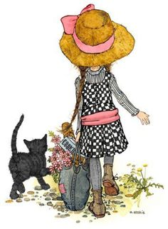 Kitty Cat & Holly Hobbie