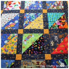 I Spy Quilt Tutorial - The Crafty Mummy