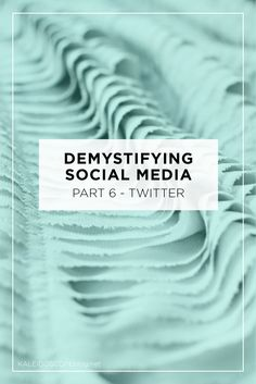 Well here we are at part 6 of the Demystifying Social Media Series. Over the past 5 weeks, Amanda and I have explored How to Brand your Social Media, Instagram, Pinterest, Google Plus, Facebookand this week I'm concluding with a comprehensive look at all things Twitter. To be honest I have never really dived into …