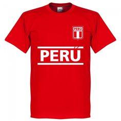 T-Shirt Perú team #tshirt #peru #football