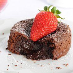 Chocolate Molten Lava Cake (All Content © 2012 www.sugarforthebrain.com)