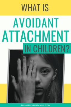 Avoidant attachment style is explained in this clear, no-fuss blog. What it is, why it occurs, and how to parent your child through it. Foster Parenting, Kids And Parenting, Reactive Attachment Disorder, Becoming A Foster Parent, Adverse Childhood Experiences, Attachment Theory, Foster Care Adoption, Emotional Child, Math Work
