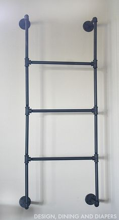 Plain Piping Ladder for ceiling in laundry room (to hang wet clothes)