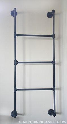 Plumbing Pipe Ladder Industrial Pipe Stuff Pinterest