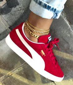efe00af46c  haileykluever • Instagram photos and videos. Red Puma ShoesRed ...