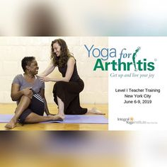 New York City are you ready to level up your #yoga teaching practice and better serve the #arthritiscommunity? Our Level 1 Training is headed your way June 6-9 2020 co-led by Nancy O'Brien (@nancyobrienyoga) Livvie Mann and Peter Karrow at @integralyoganyc. . The Yoga for Arthritis training was developed by yoga researcher and #arthritis expert Steffany Moonaz PhD (@drmoonaz) along with an interdisciplinary team including rheumatologists psychologists public health researchers and yoga… Yoga For Arthritis, Level Up, Get Up, My Teacher, Public Health, Live For Yourself, New York City, June, Training