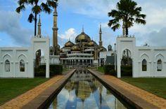 Masjid Kristal, nearby Merang Suria Resort