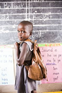 Opportunity International seeks out ways to build and support #education. And it is working. When we look long term, hopefully this investment in private education will create an economically active generation.