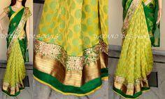 Customised saree