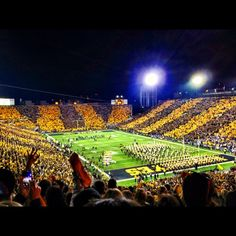 Kinnick Stadium in Iowa City, IA