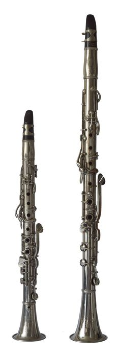 Double-bore Metal Clarinets (Conn)
