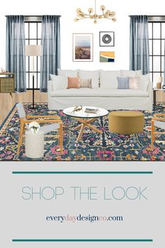 Check out my favorite finds to update your living room this Autumn!  everydaydesignco.com