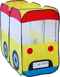 My First School Bus Kids Pop-Up Play Tent with Carrying Bag Kids Pop, 4 Kids, Baby Kids, Pop Up Play, Star Wars, Second Child, Social Skills, Kids Furniture, Games For Kids