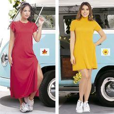 Elige el color que más vibra con tu personalidad 😍 ¿Rojo o Mostaza? 🧡