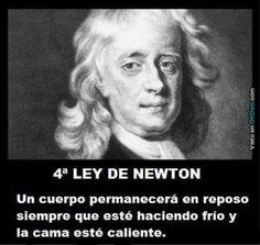 Ley de Newton-Imagen Graciosa de Hoy nº 86892 #compartirvideos.es #videosdivertidos
