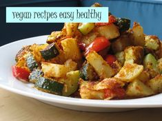 Vegan Recipes Easy Healthy - New Site Vegan Recipes Easy Healthy, Vegetarian Meals For Kids, High Protein Vegetarian Recipes, Healthy Breakfast Recipes, Paleo, Beef Recipes, Potato Recipes, Cooking Recipes, Easy Meals