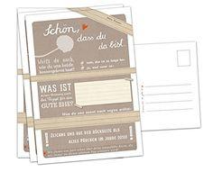 52x Schön, dass du da bist -Postkarten mit Fragen und zum Zeichnen als Hochzeitsspiel, Postkartengruß, Partykarten, Spiel für die Hochzeit Eine der Guten, Bücher für ein besseres Leben http://www.amazon.de/dp/B00JLENLKW/ref=cm_sw_r_pi_dp_oXEevb138Y7PP