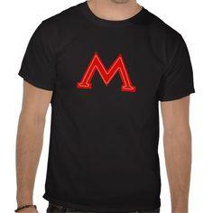 Moscow Metro Sign Soviet Union T-shirt Subway Tee