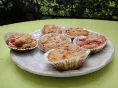 Muffins ricotta-framboises