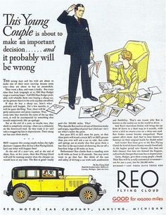REO Motor Car Co., 1930 | Flickr - Photo Sharing!