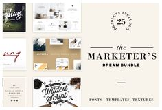 Marketer's Dream Bundle — Pixel Surplus | Resources For Designers