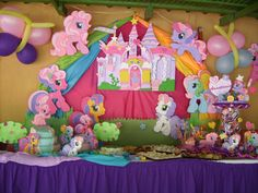 Centros de mesa de los pequeños pony - Imagui