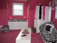 zebra print bedding for girls room |  Girls' Room Designs - Decorating Ideas - HGTV Rate My ...