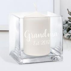 Personalised Birthday Gifts for Grandma Birthday Gifts For Grandma, Grandma Gifts, Retro Sweet Hampers, Cut Glass Vase, Fabulous Birthday, Personalized Birthday Gifts, 1st Anniversary, Girl Birthday, Birthdays