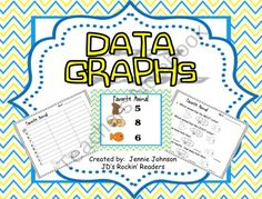 Data Graphs FREEBIE There are three data graphs included in this packet.Each activity includes: Data Chart, Graph for students to fill out, and Questioning worksheet.These graphs each have 3 categories. Great for kindergarten, and grade classrooms! Teacher Freebies, Classroom Freebies, Math Classroom, Kindergarten Math, Teaching Math, Teaching Ideas, Classroom Ideas, Classroom Organization, Classroom Management