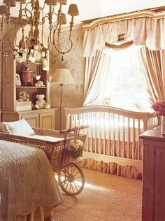 20 Latest Trend for Cute Baby Girl Room Ideas - Home Decor Ideas Baby Bedroom, Nursery Room, Girl Nursery, Girl Room, Chic Nursery, Elephant Nursery, Baby Rooms, Vintage Nursery, Antique Nursery