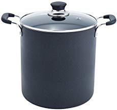 T-fal Specialty Total Nonstick Dishwasher Safe Oven Safe Stockpot Cookware, Black - T-fal Specialty Nonstick Stockpot Dishwasher Safe Stock Pot Cookware, Black/Grey. Canned Pickled Beets, Canned Carrots, Bread & Butter Pickles, Beef Bone Broth, Beef Bones, Best Stocks, Cookware Set, Canning Recipes, Dishwasher