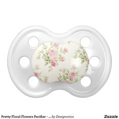 Pretty Floral Flowers Pacifier - Infant, Baby