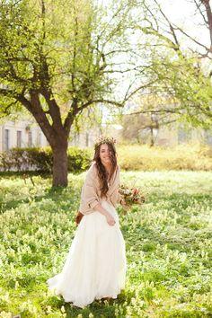 невеста в стиле рустик #rustic #bride