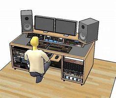 Image Result For Recording Studio Desk Ideas Music Home