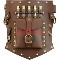 Steampunk Utility Hip Pouch Belt Slide - DK2037-7 from Dark Knight Armoury