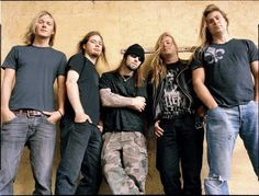 This Finnish band is known for their melodic riffs. While there are other very good Scandinavian melodic death metal bands (ex. Kalmah, Norther) Children of Bodom is the most popular, the reason it clinched the number seven spot.