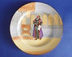 Royal Doulton Shakespearean Characters 'Shylock' Series Ware Rack Plate c1932