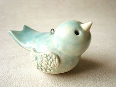 bluebird ornament by Ferragamo Studio, via Flickr